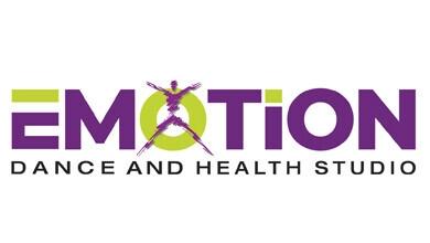 E-Motion Dance & Health Studio Logo